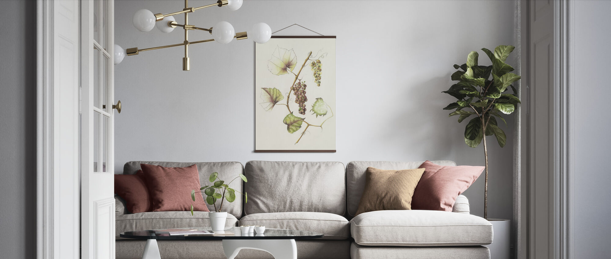 Concord Grapes - Poster - Living Room