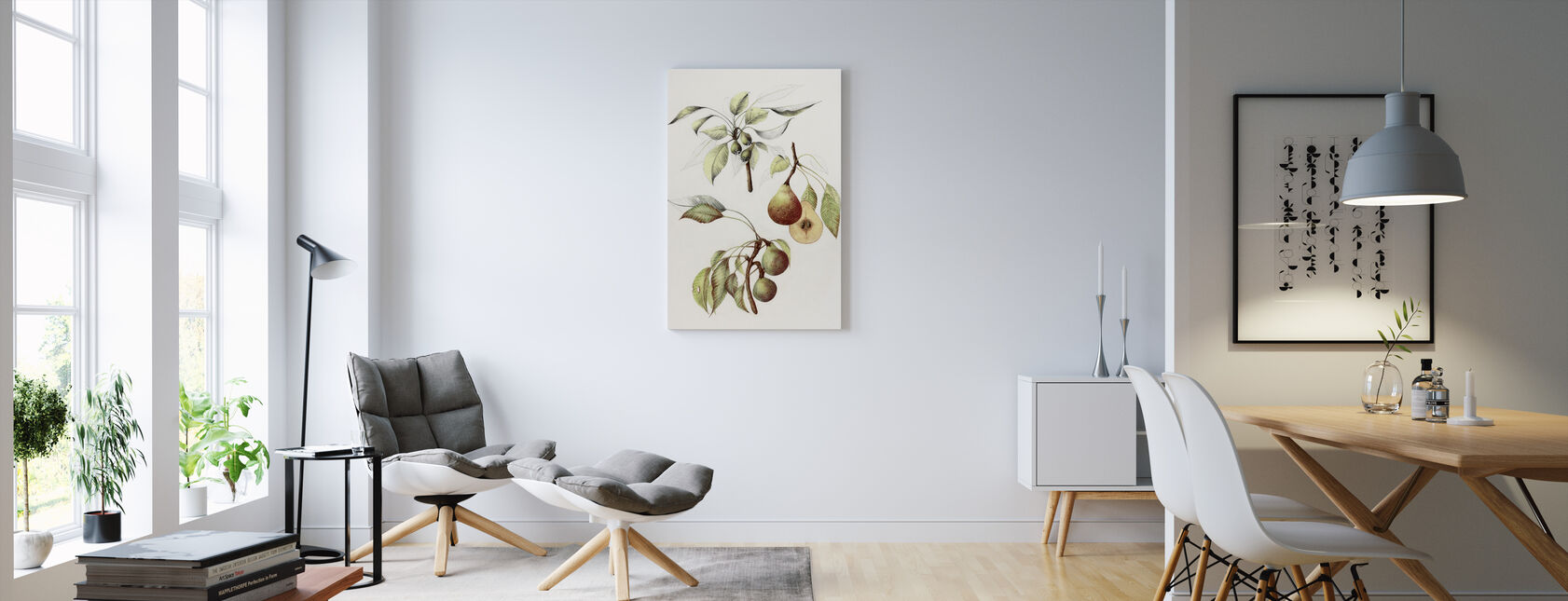 Pine Straat Peren - Canvas print - Woonkamer