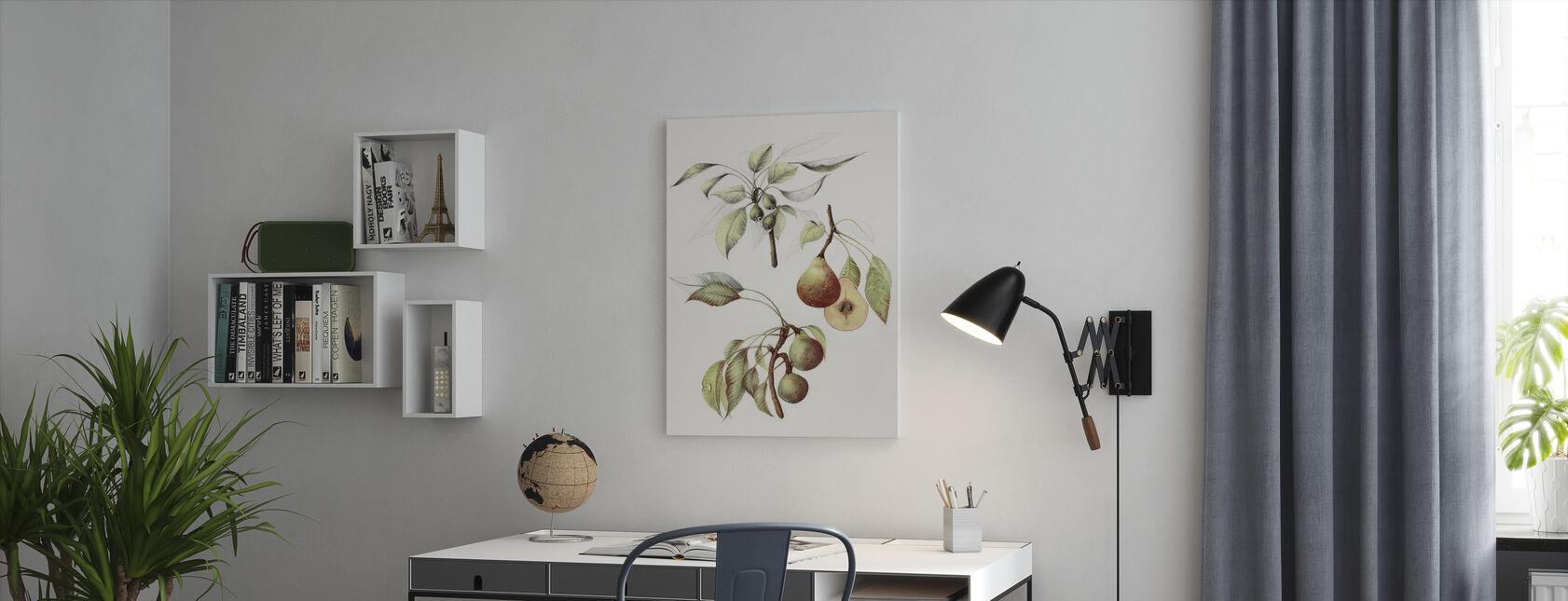 Pine Straat Peren - Canvas print - Kantoor