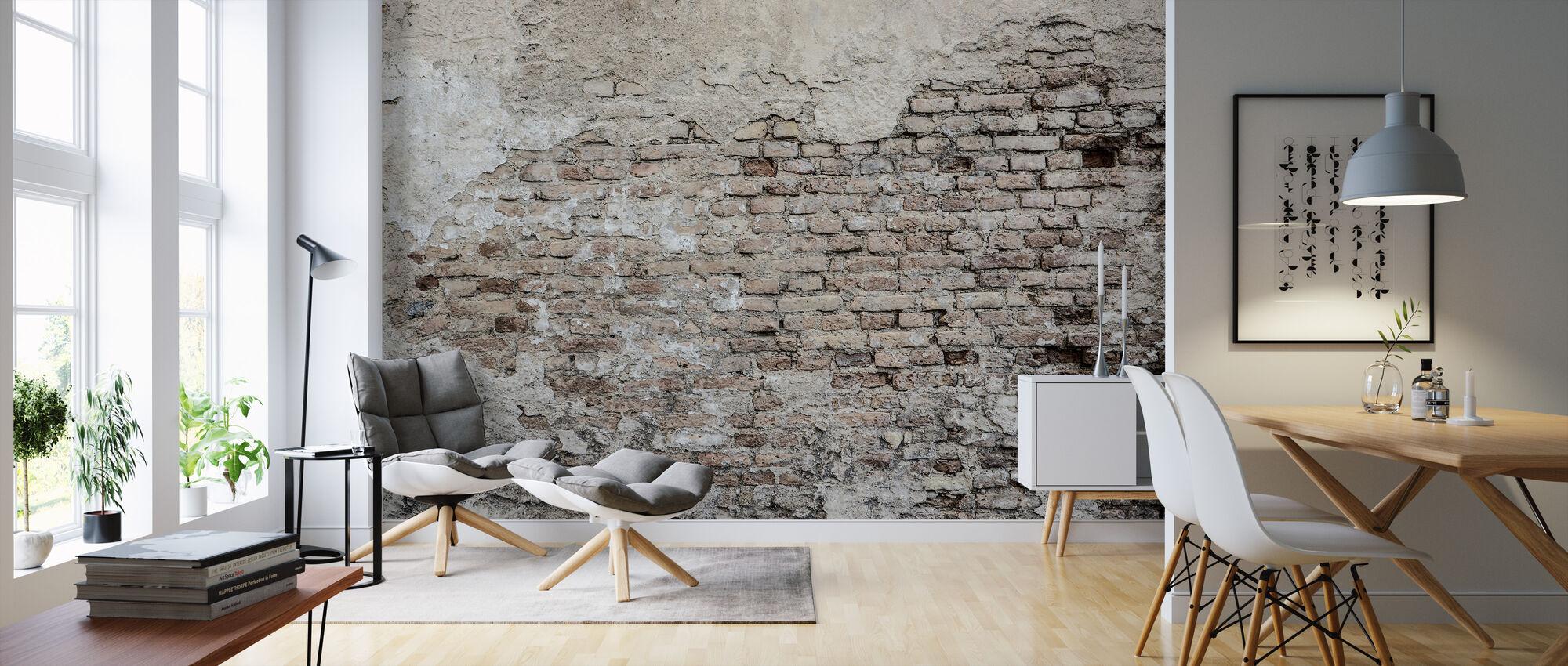 Gamle Brickwall - Tapet - Stue