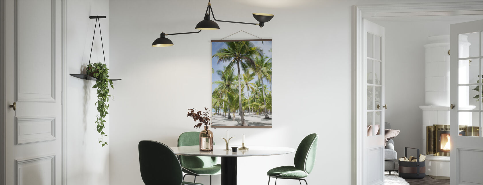 Palm Trees in Bohol, Phillipines - Poster - Kitchen