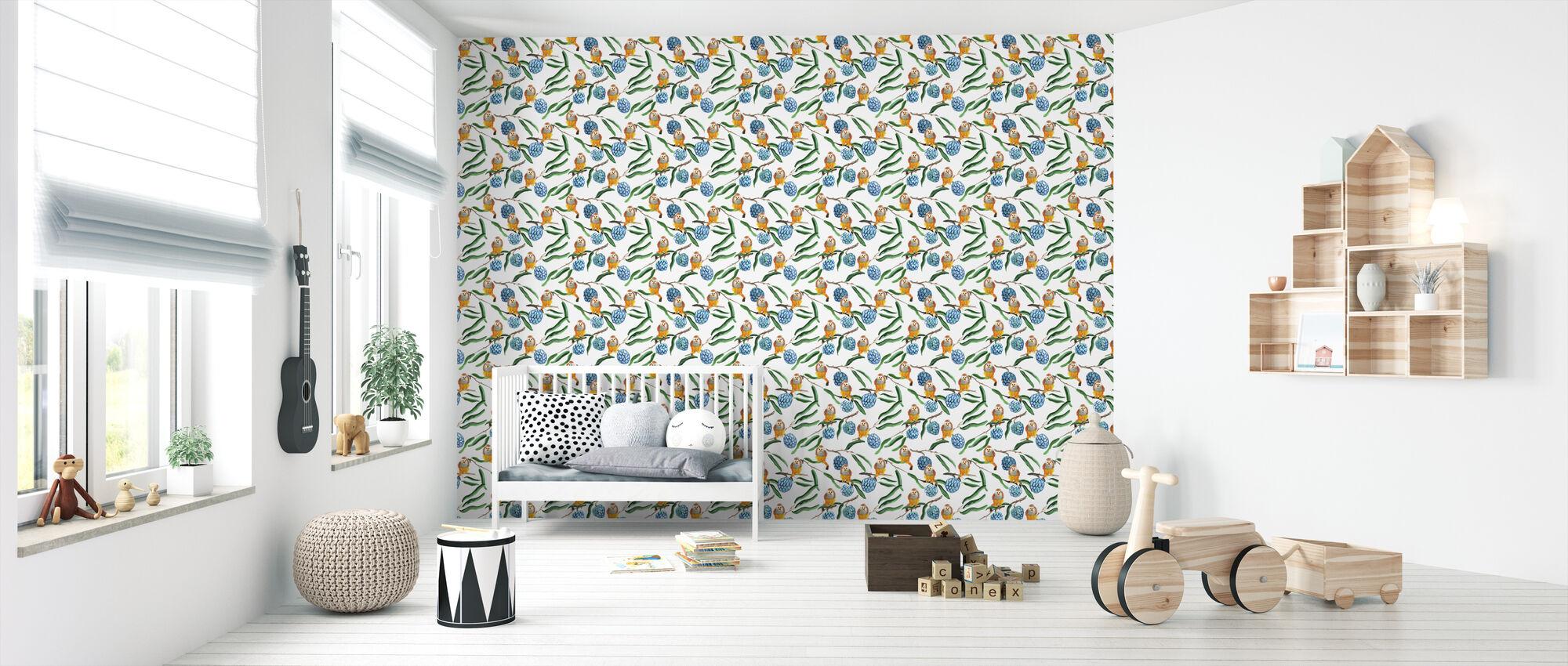 Sugar Apple - Wallpaper - Nursery