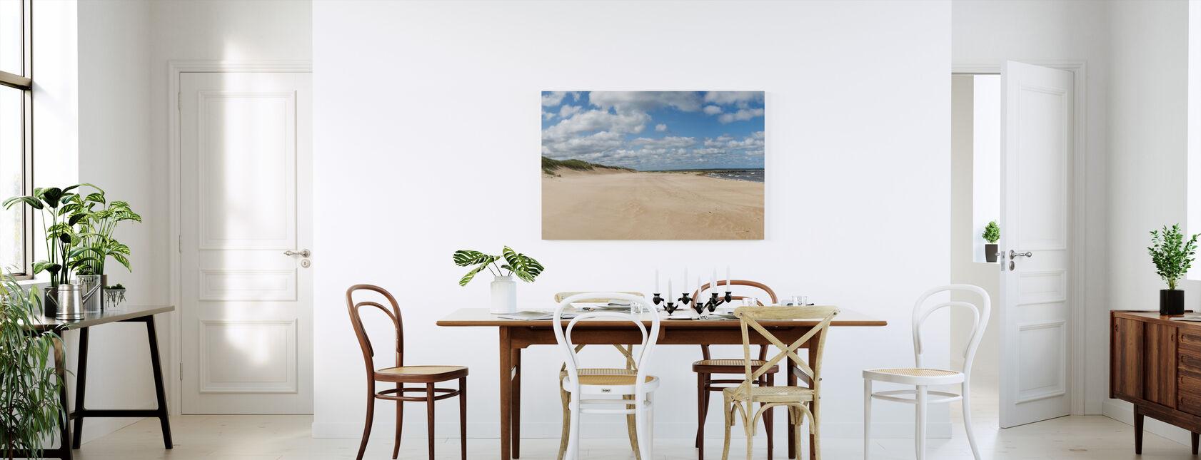 Vejbystrand in Skåne, Sweden - Canvas print - Kitchen