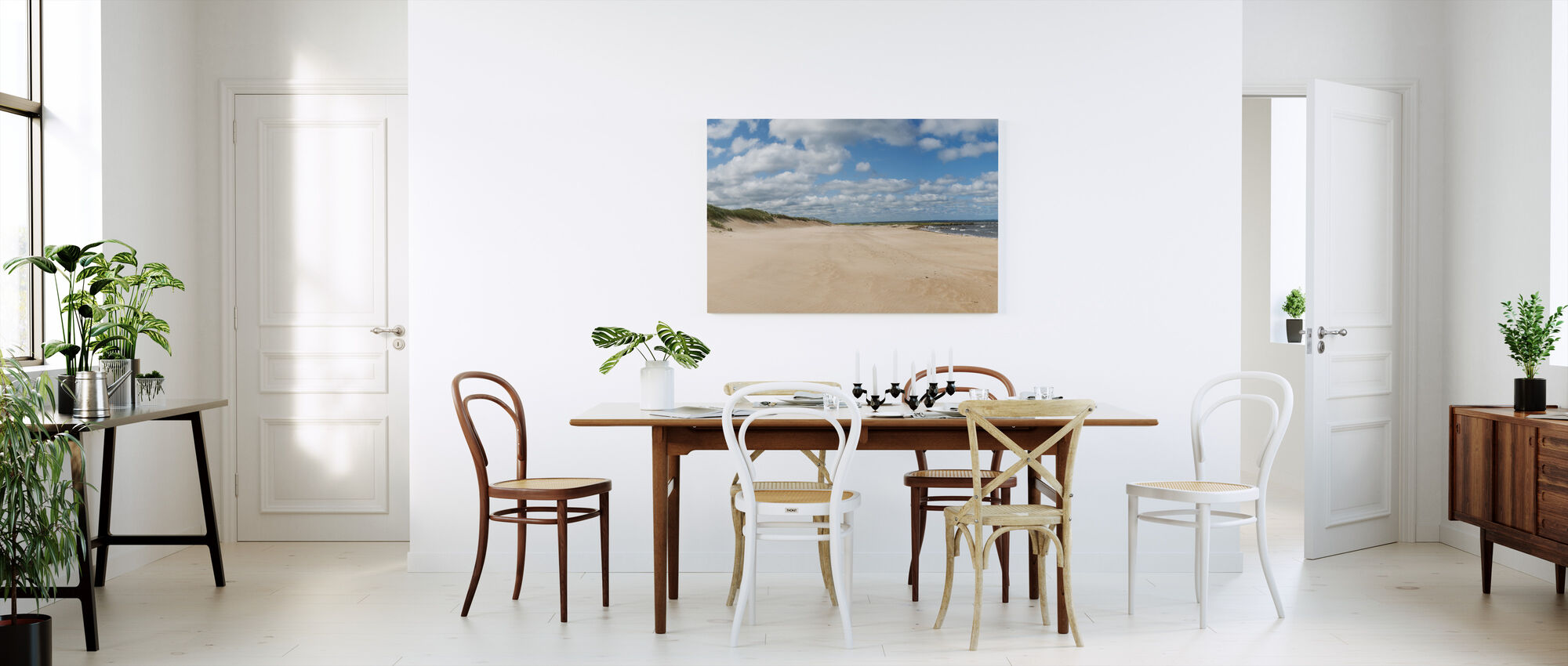 Vejbystrand in Skåne, Sweden - Canvas print - Kitchen