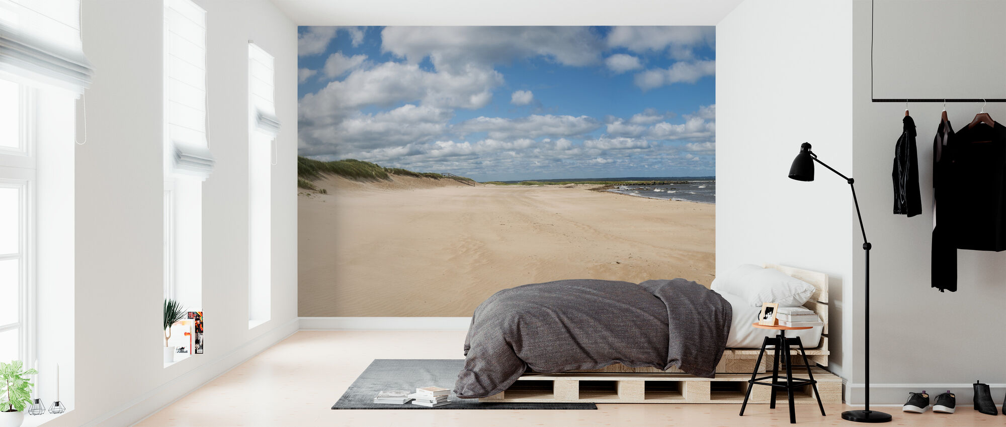 Vejbystrand in Skåne, Sweden - Wallpaper - Bedroom