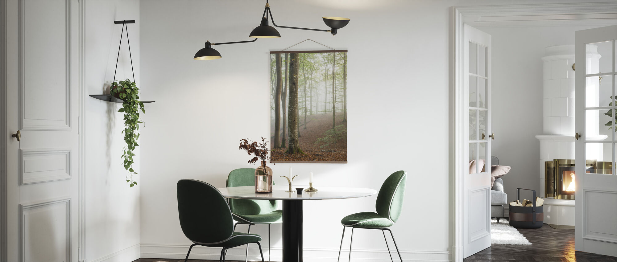 Swedish Beech Forest I - Poster - Kitchen
