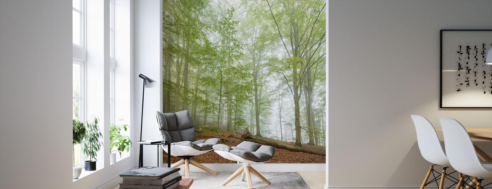 Swedish Beech Forest III - Wallpaper - Living Room