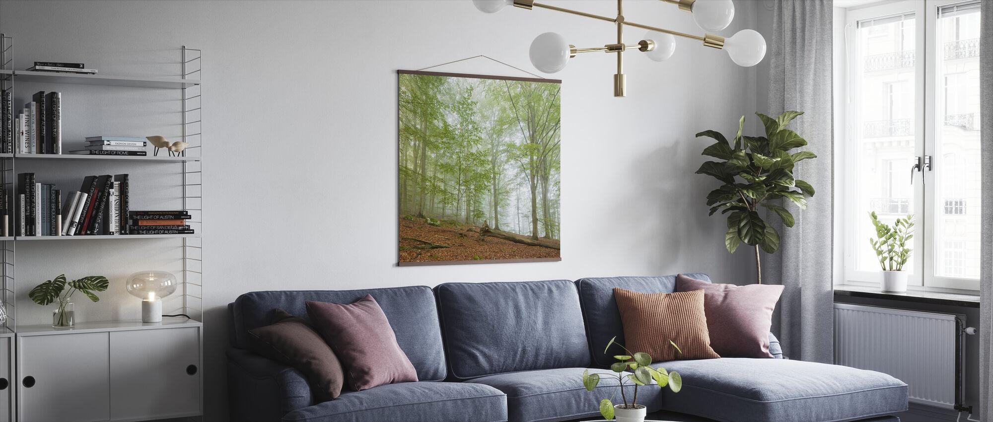 Swedish Beech Forest III - Poster - Living Room