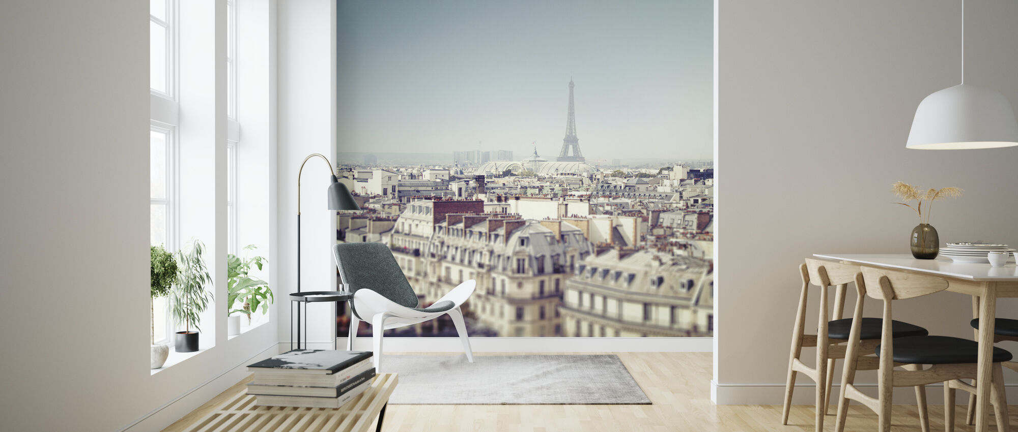 Paris Moments VI - Wallpaper - Living Room