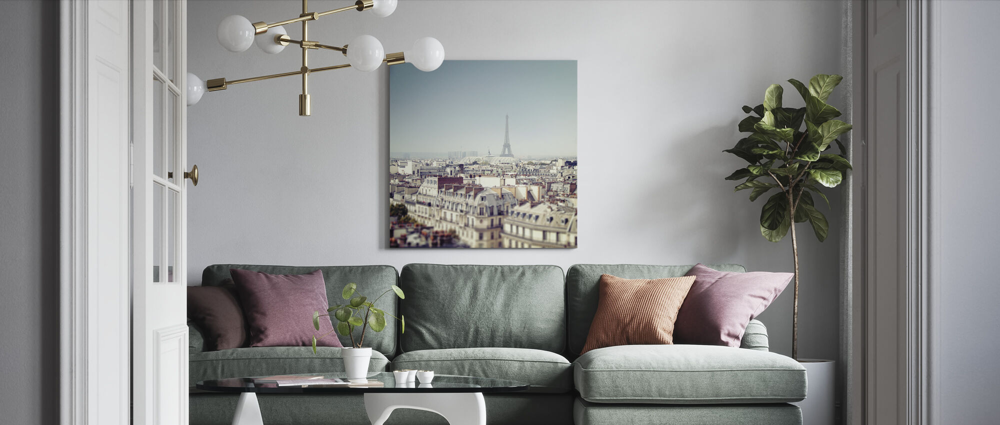 Paris Moments VI - Canvas print - Living Room