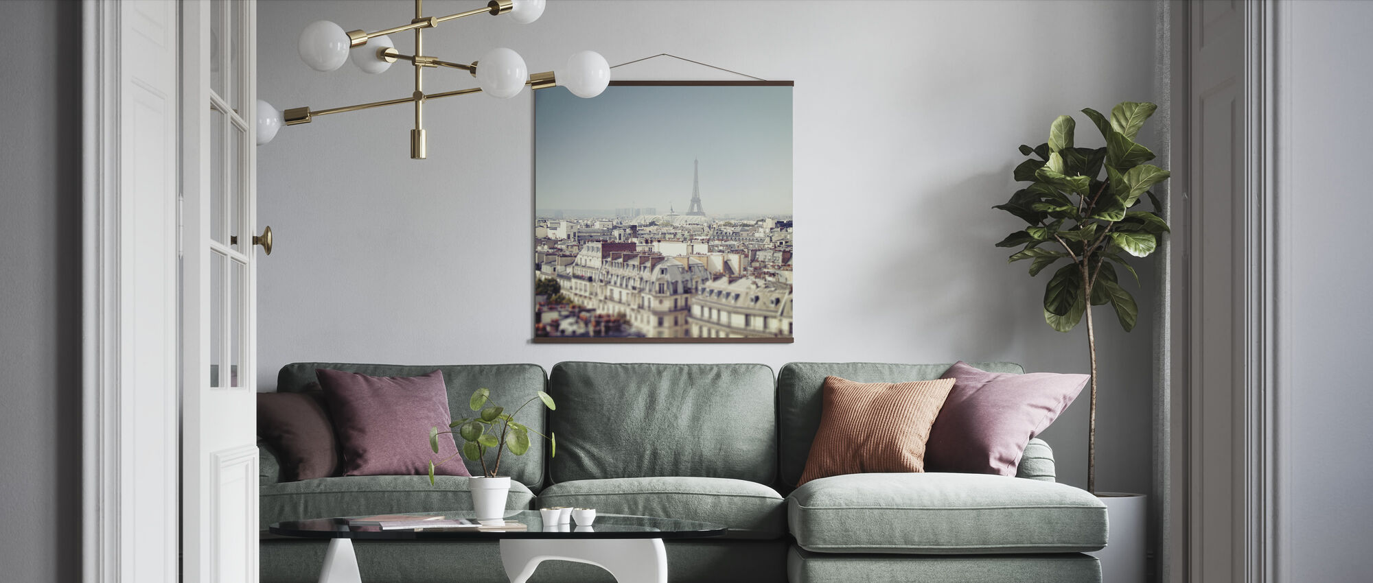 Paris Moments VI - Poster - Living Room
