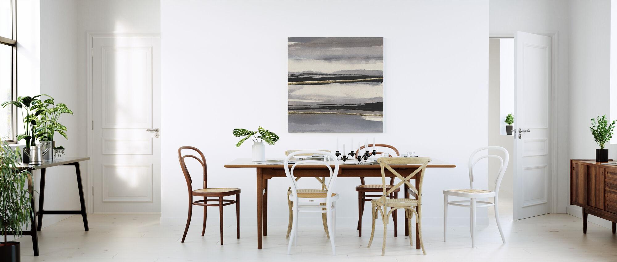 Gilded Grey I - Canvas print - Kitchen