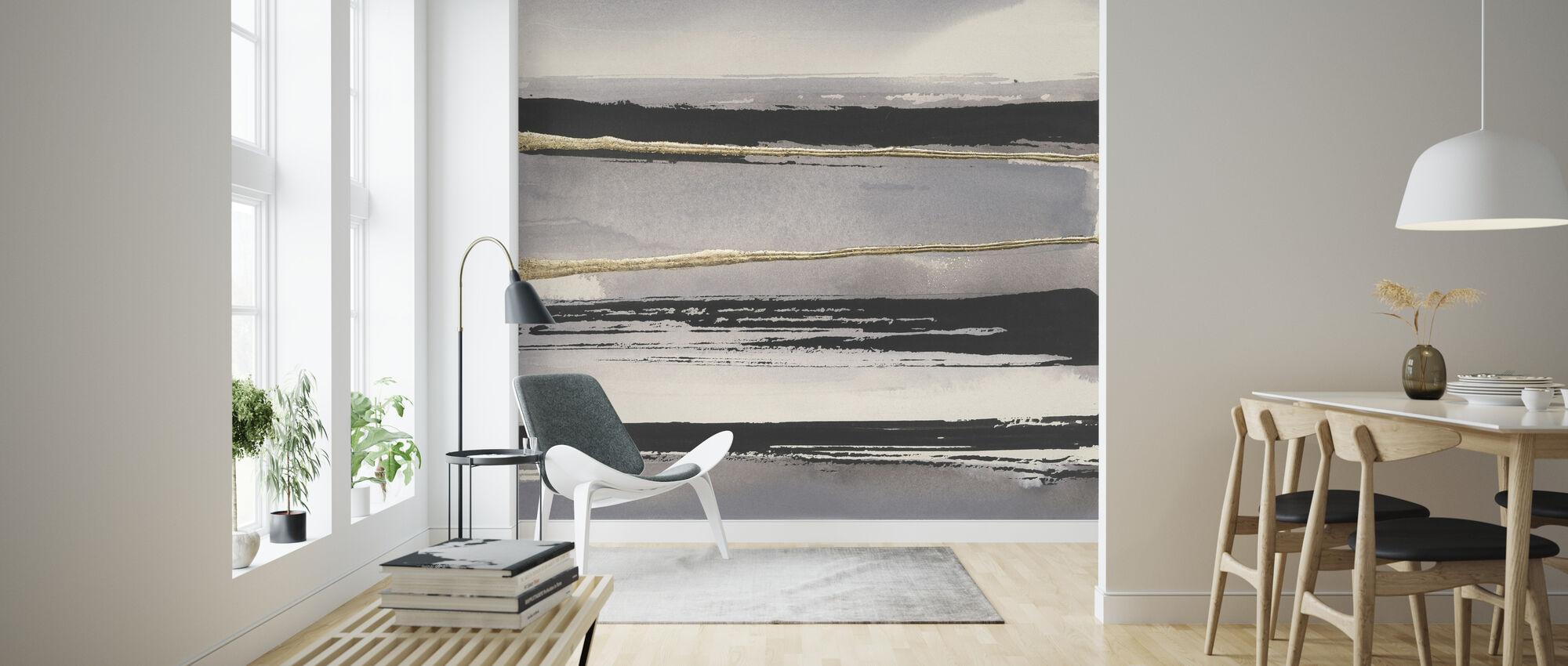 Gilded Grey II - Wallpaper - Living Room