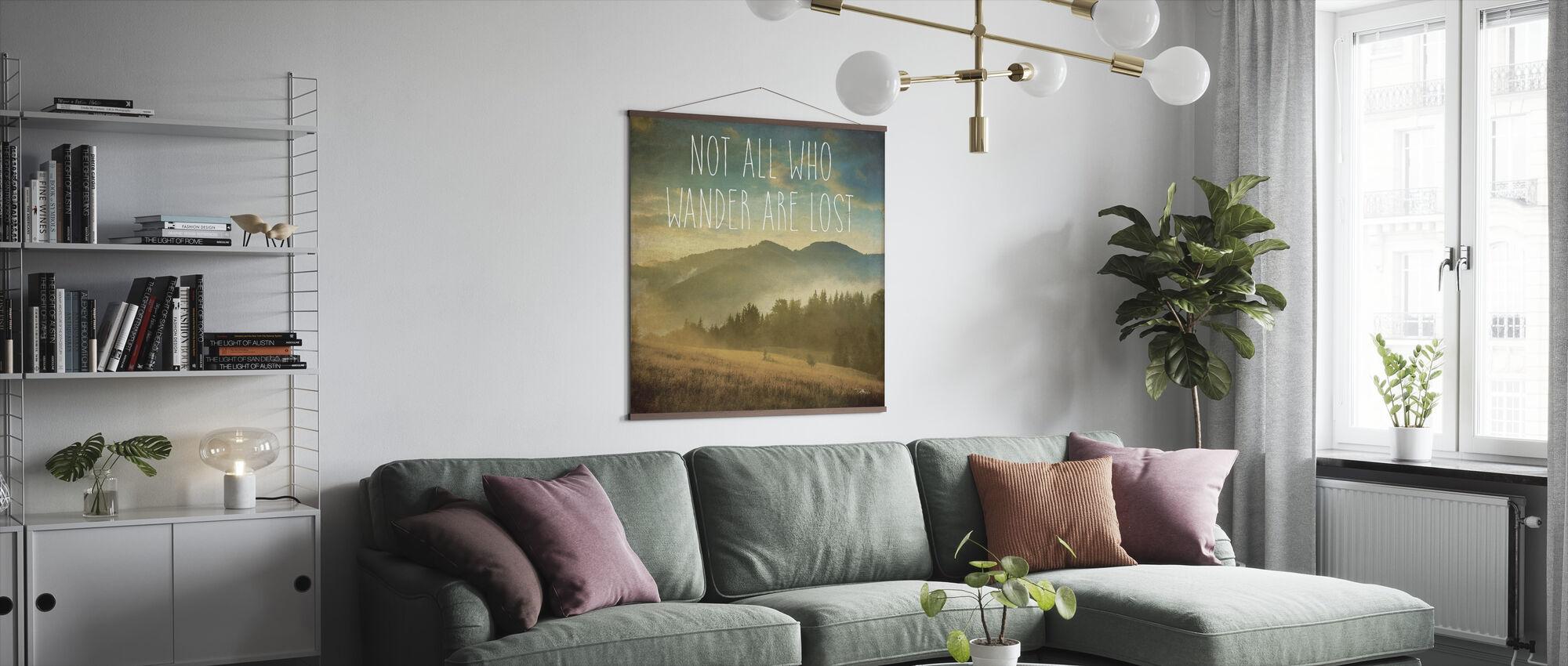 Wander II - Poster - Living Room