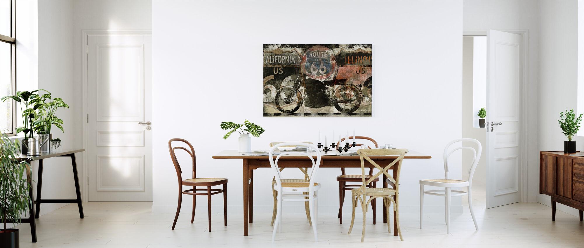 Route 66 US - Canvas print - Kitchen
