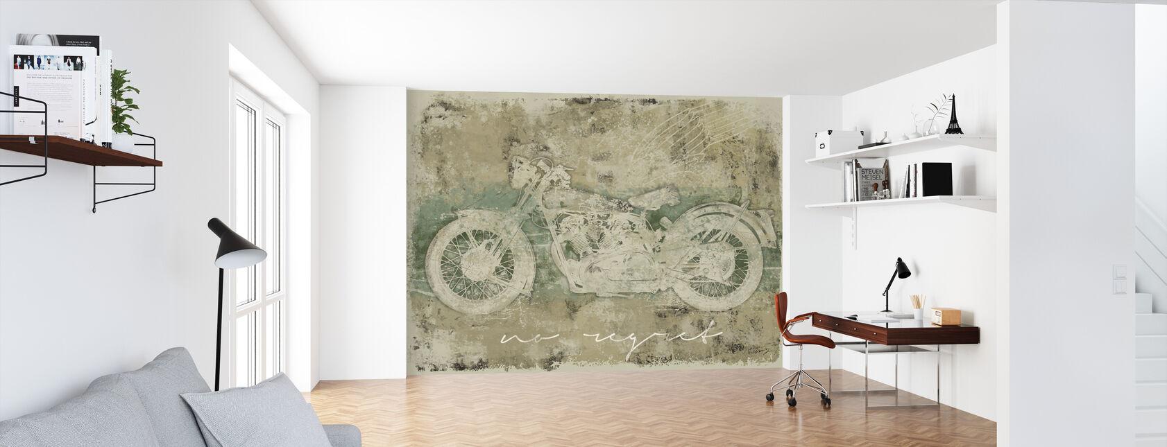 Motorfiets Geen spijt - Behang - Kantoor