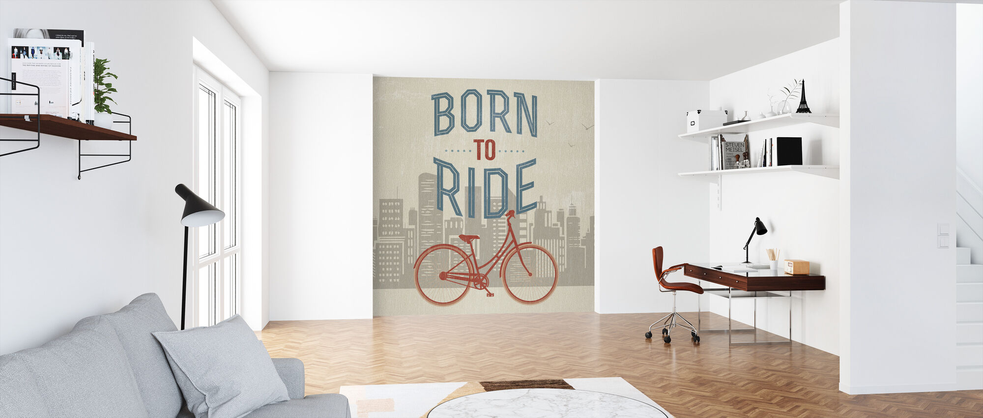 Born to Ride - Wallpaper - Office