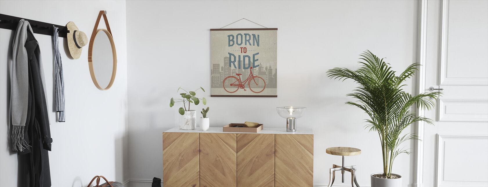 Syntynyt ratsastaa - Juliste - Aula