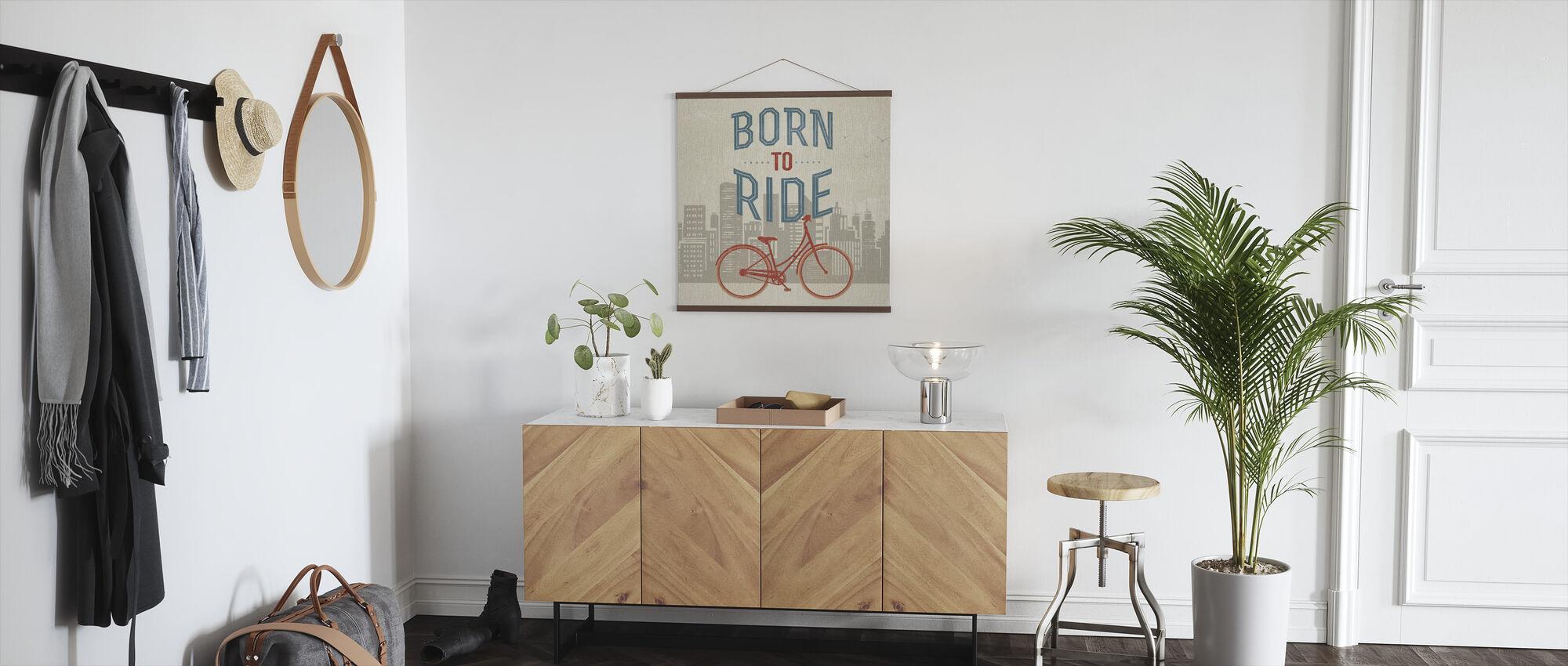 Geboren om te rijden - Poster - Gang