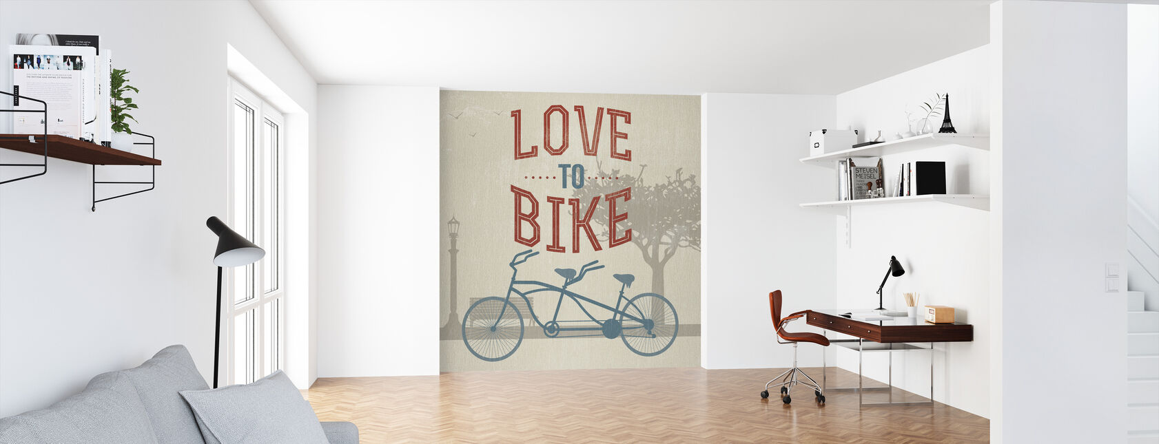 Love to Bike - Wallpaper - Office