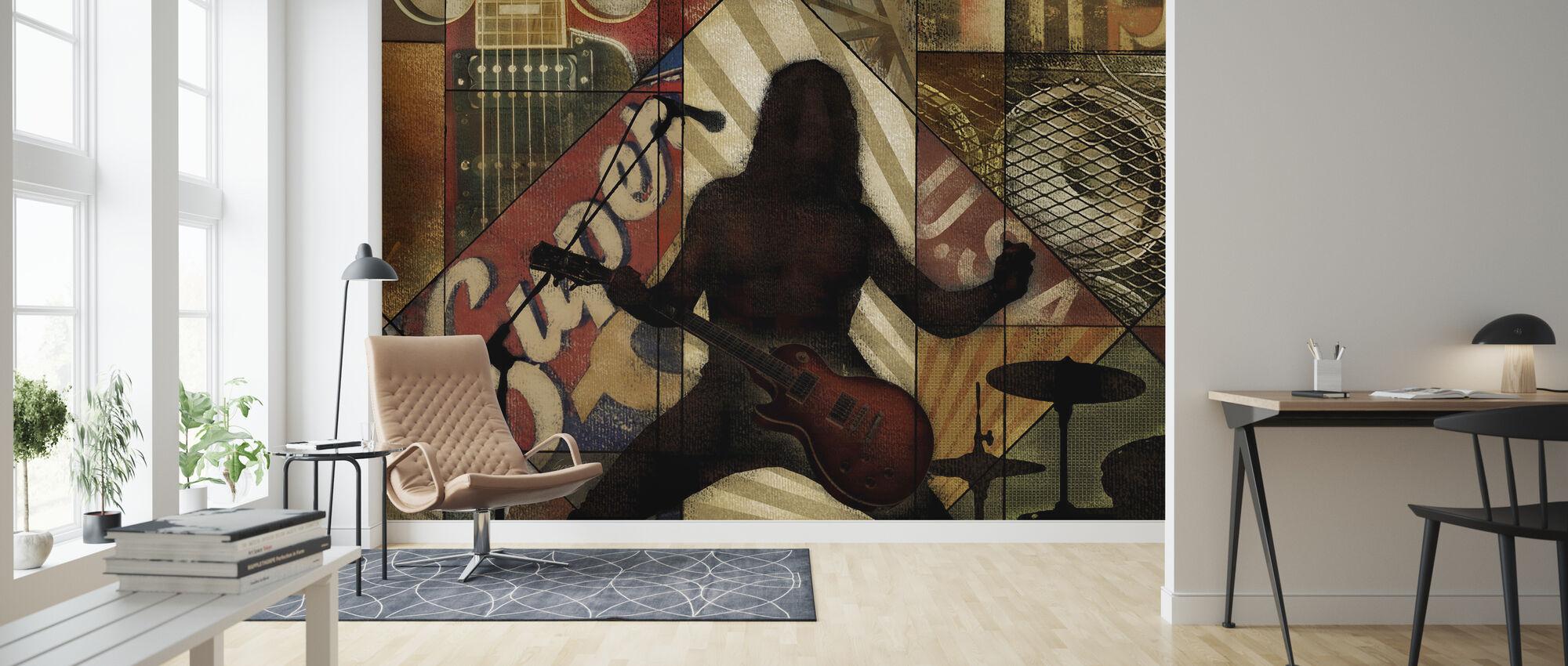 Superstar Rocker - Wallpaper - Living Room