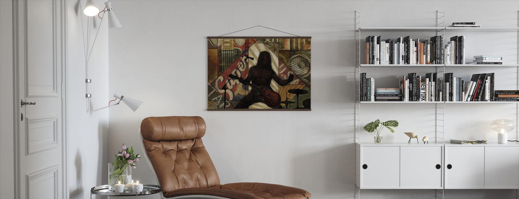 Superstar Rocker - Poster - Living Room