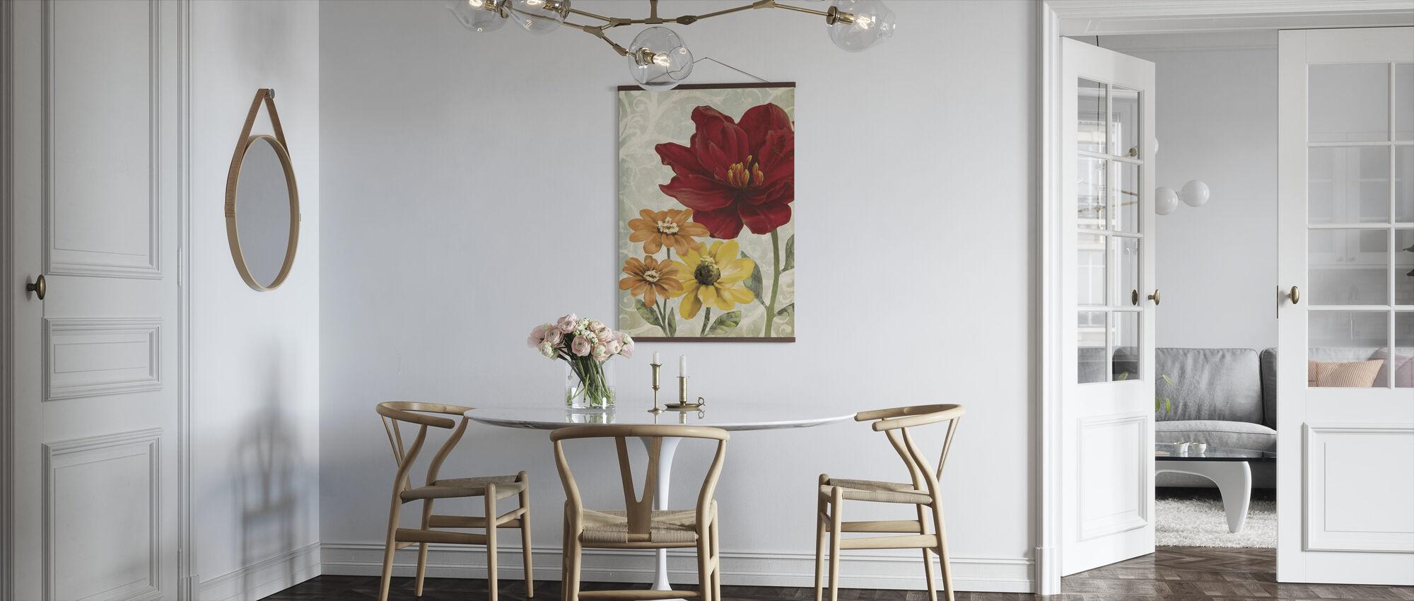 Varma blommor - Poster - Kök