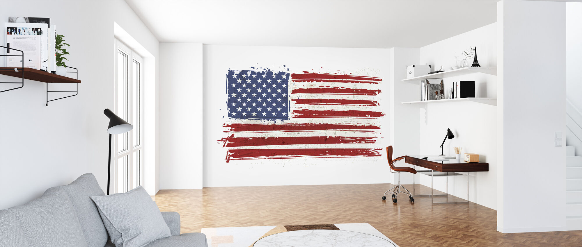 Flag USA - Tapete - Büro