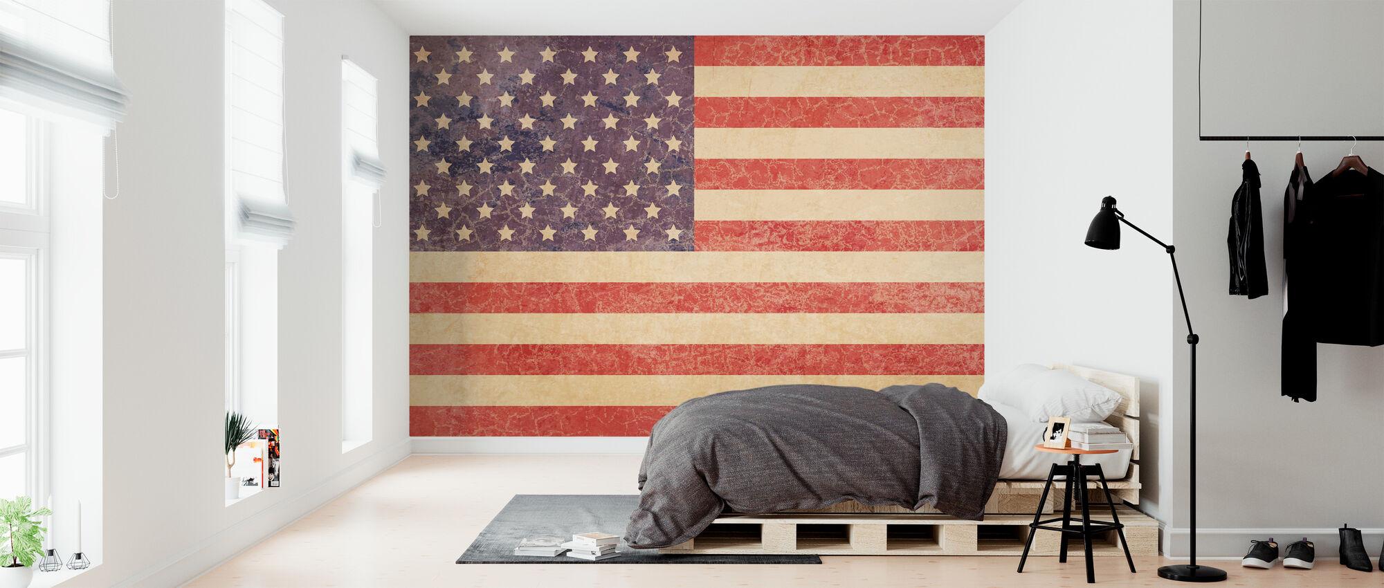 USA Vintage Map – trendy wall mural – Photowall