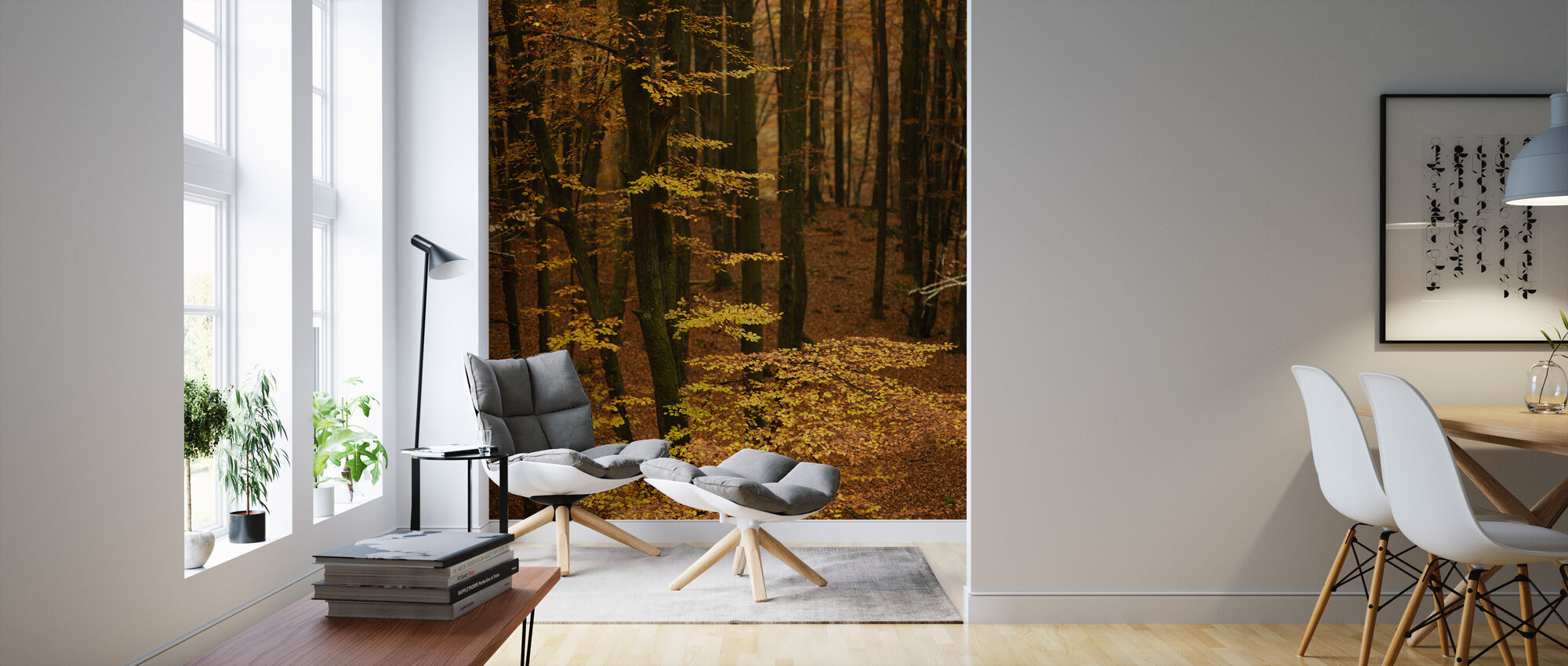 Autumn Forest - Wallpaper - Living Room