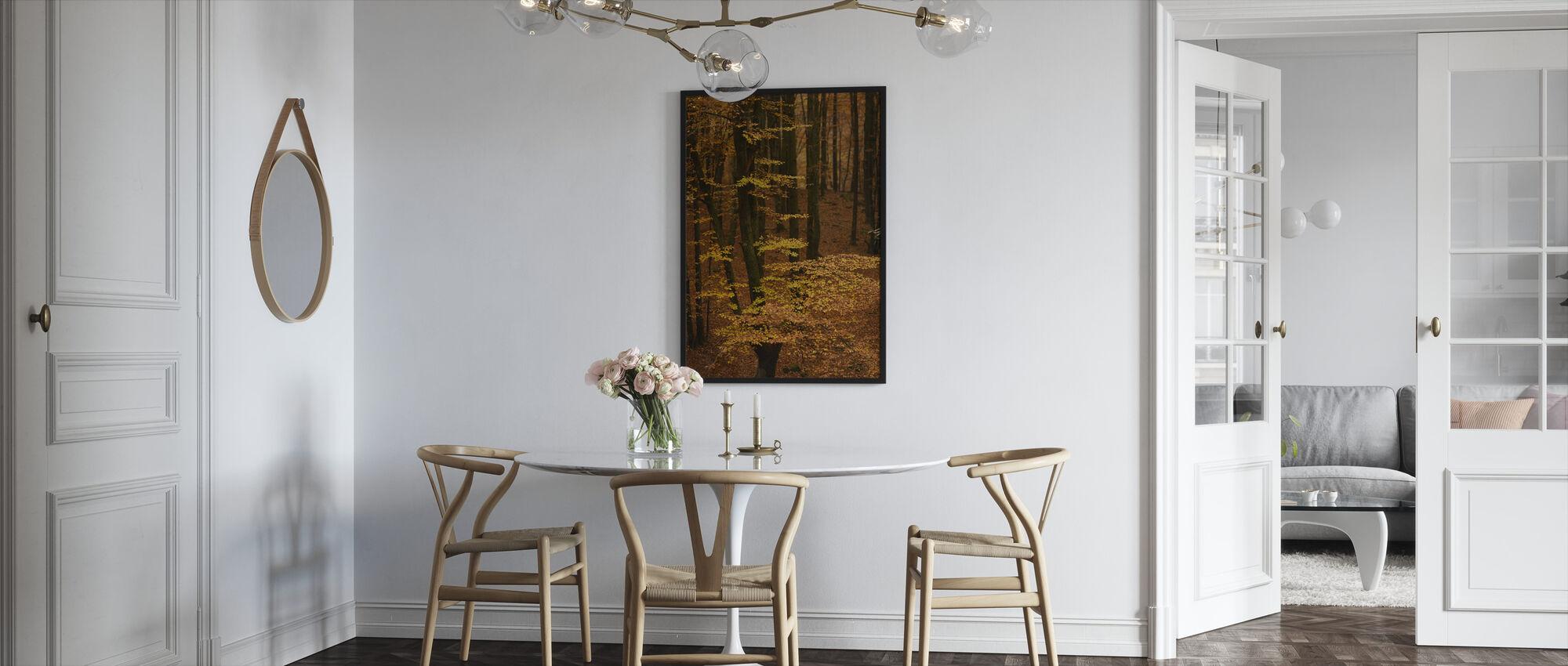 Autumn Forest - Framed print - Kitchen