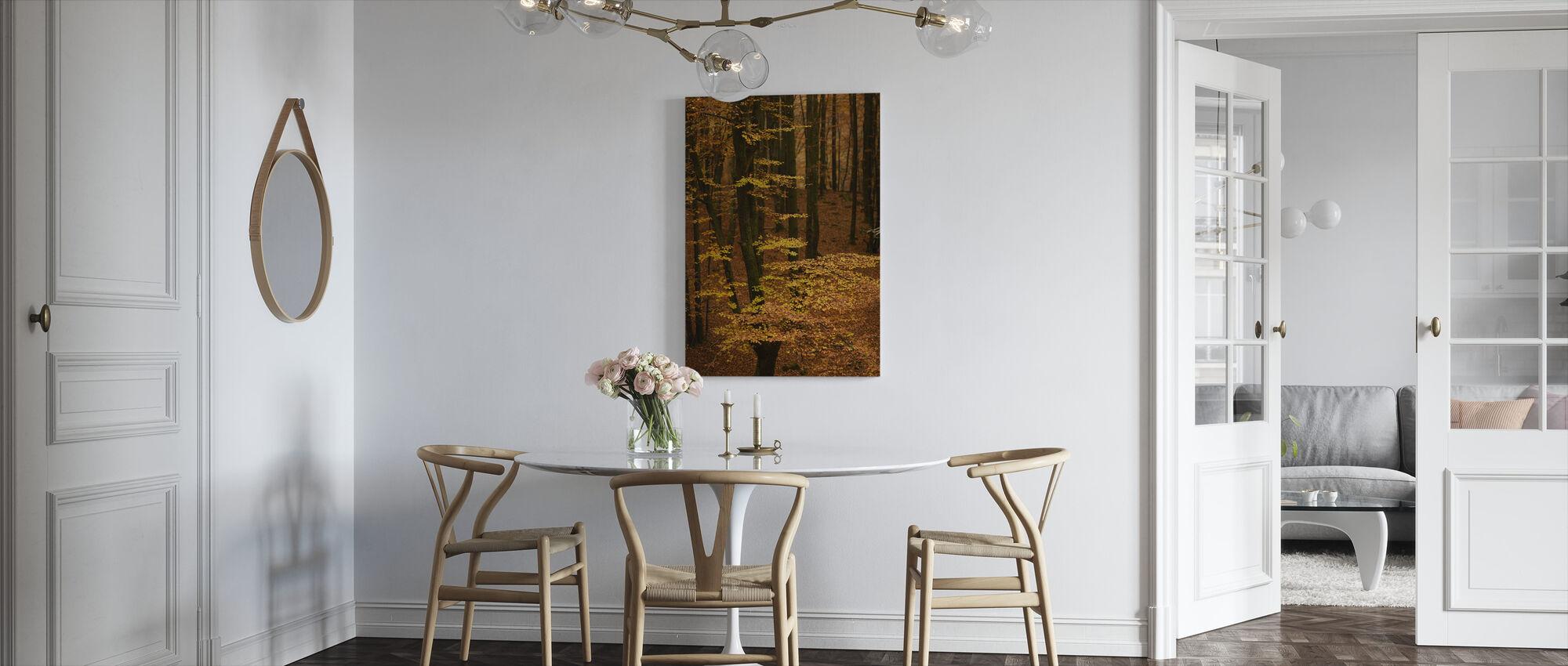 Autumn Forest - Canvas print - Kitchen