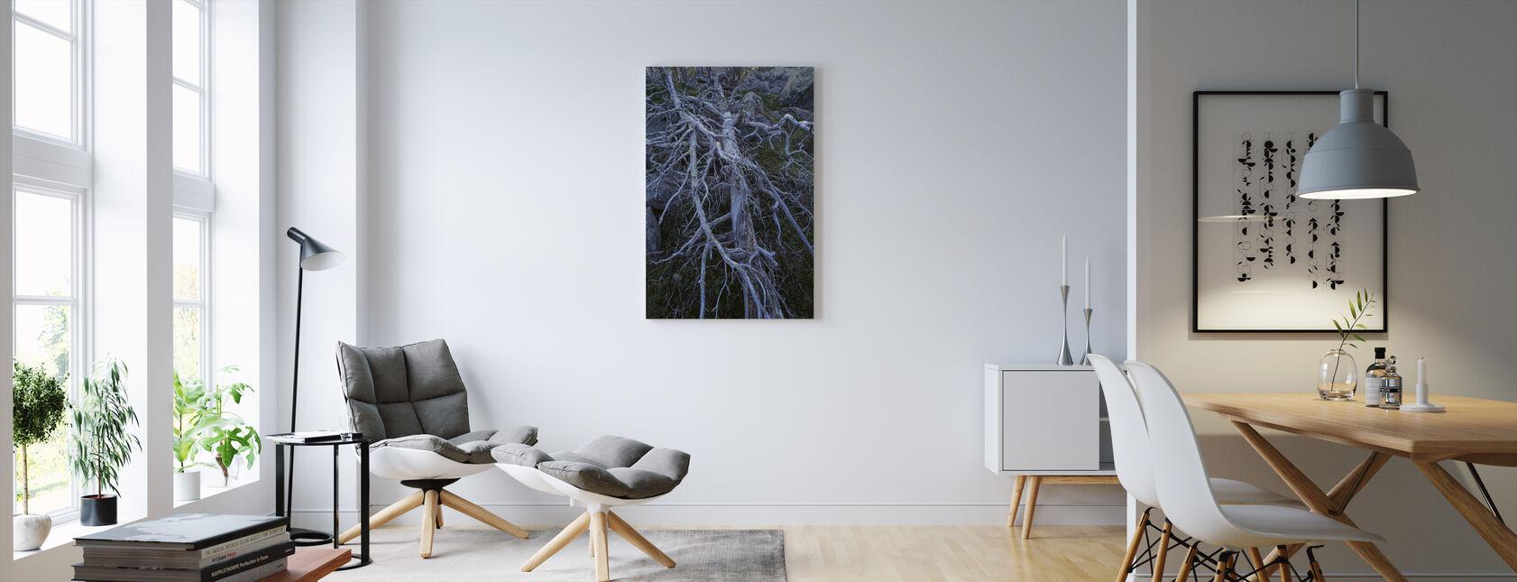Puu Rungot - Canvastaulu - Olohuone