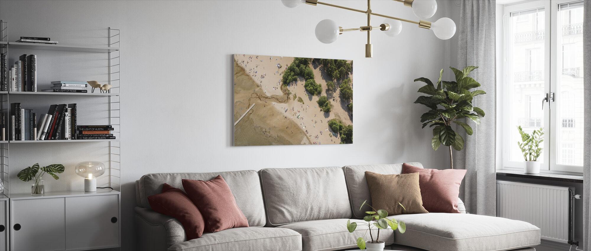 Bergafjärden in Medelpad, Sweden, Europe - Canvas print - Living Room