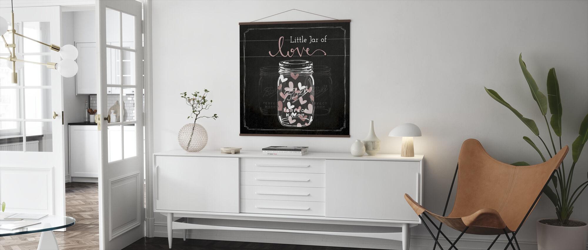 Kärlekens burk - Poster - Vardagsrum