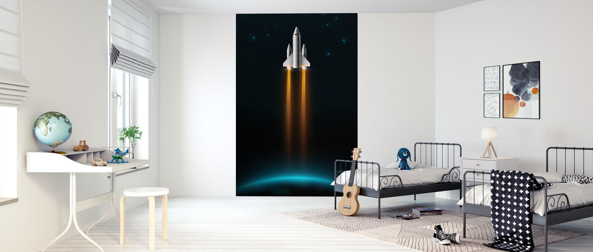 Take Off - Wallpaper - Kids Room