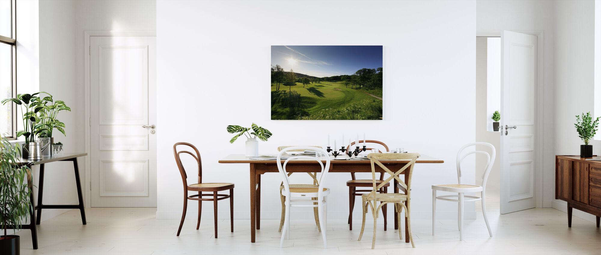 Golf Court in Gothenburg, Sweden - Canvas print - Kitchen