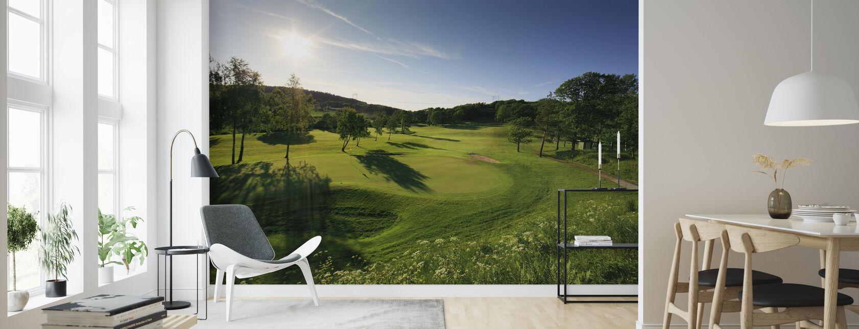 Golfbana i Göteborg, Sverige - Tapet - Vardagsrum