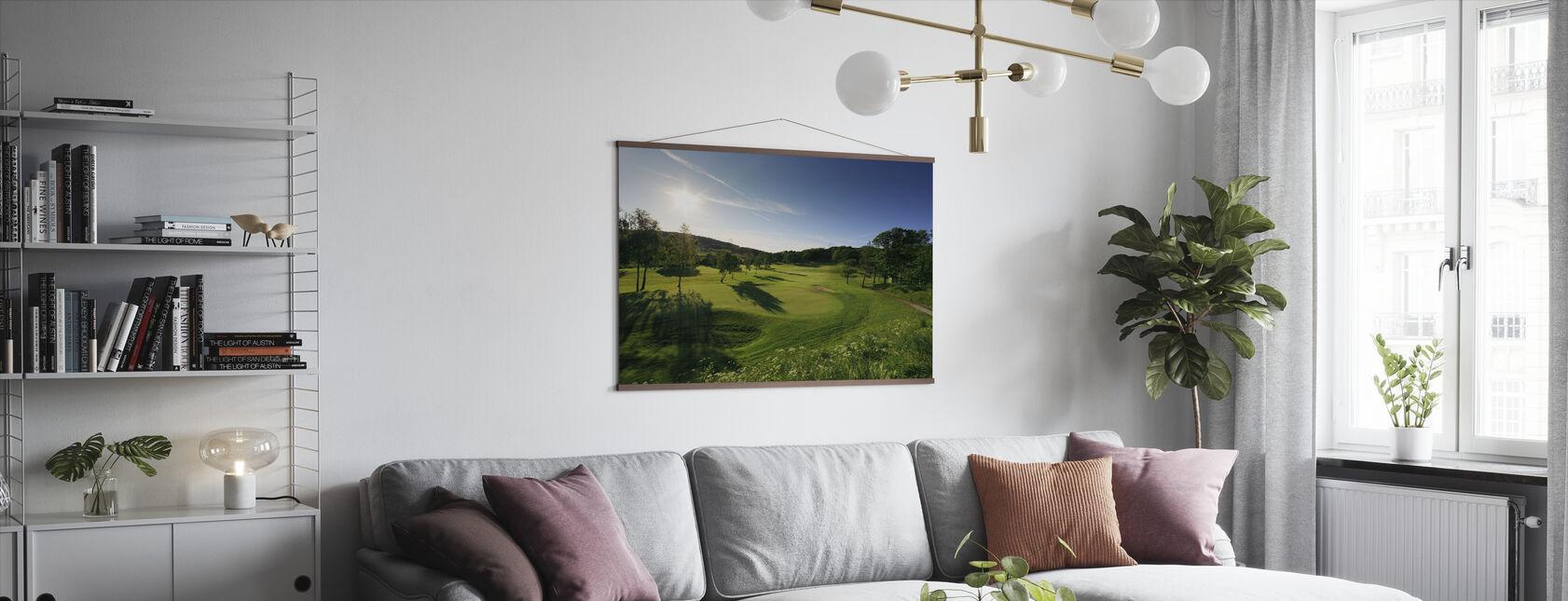 Golfbaan in Göteborg, Zweden - Poster - Woonkamer