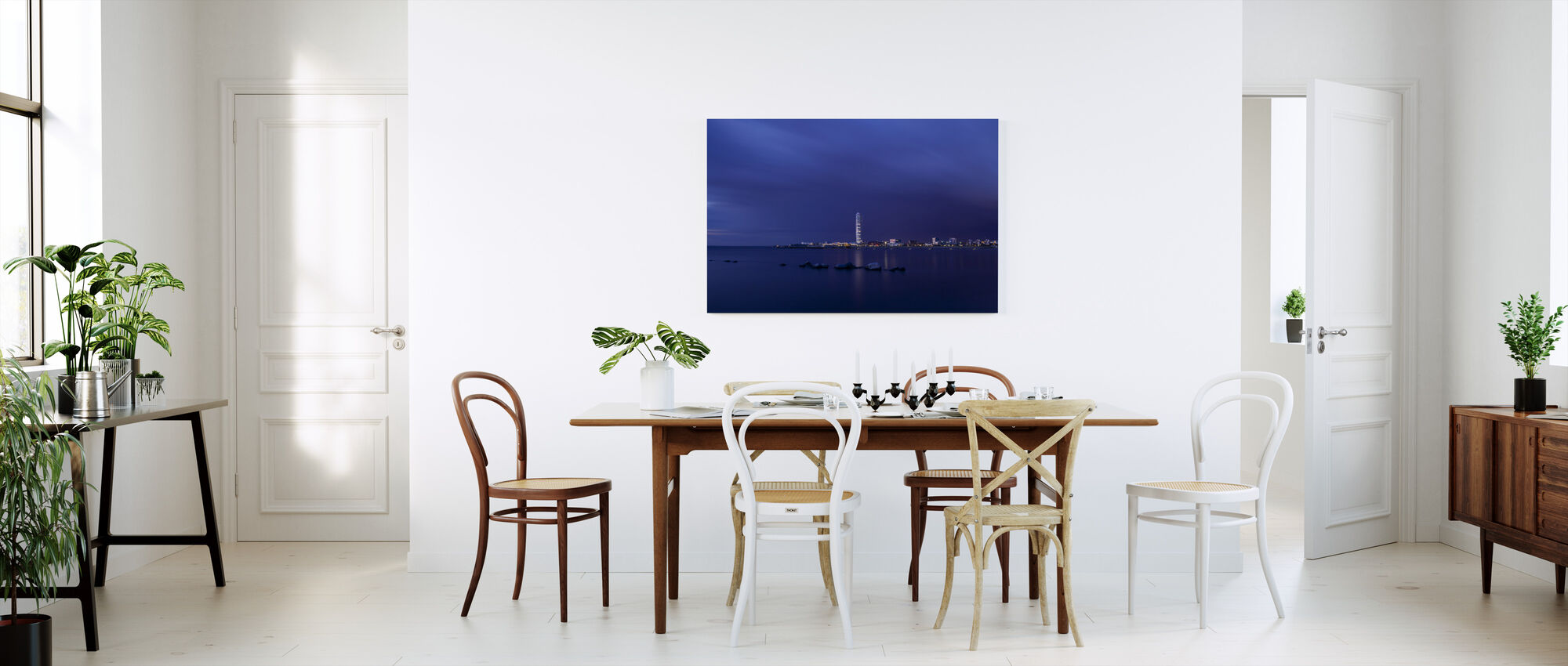 Turning Torso - Malmö Skyline - Canvas print - Kitchen