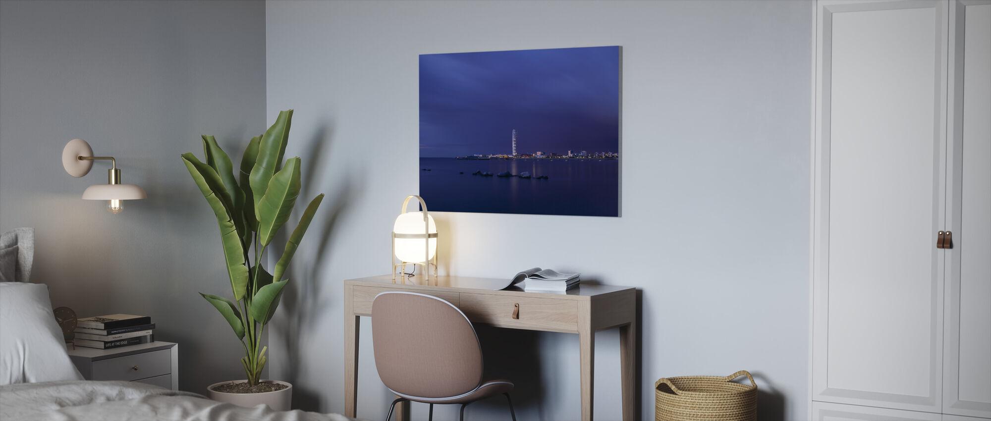 Turning Torso - Malmö Skyline - Canvas print - Office