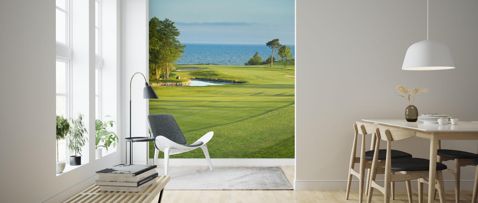 Golf Court in Stora Lund, Sweden - Wallpaper - Living Room
