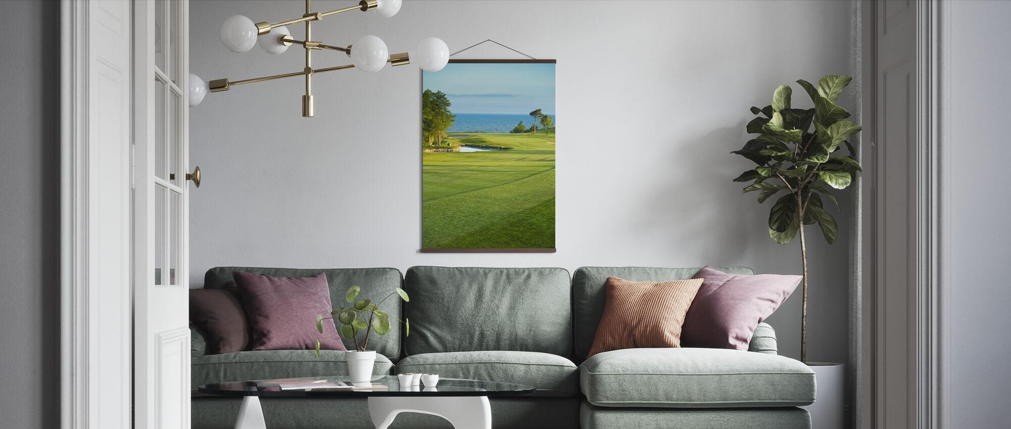 Golfbane i Stora Lund, Sverige - Plakat - Stue