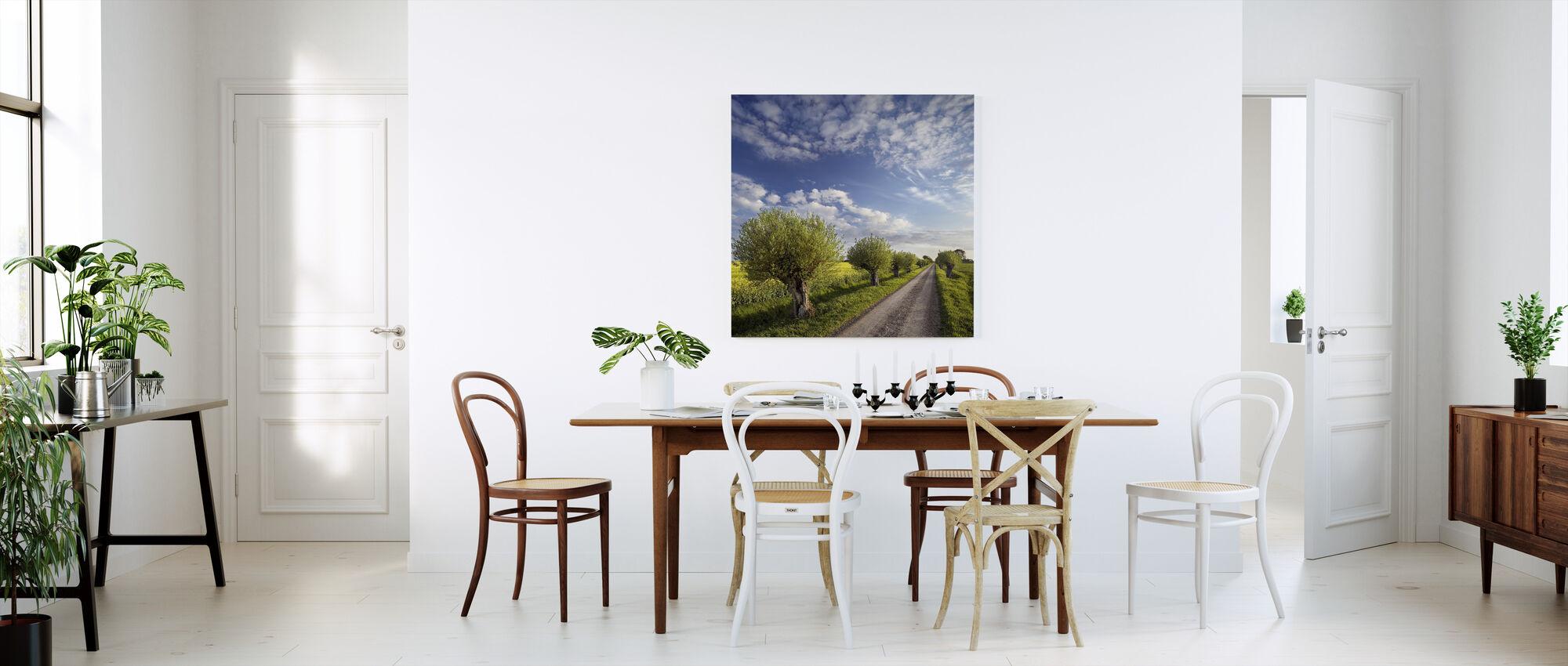 Willow in Skåne, Sweden - Canvas print - Kitchen