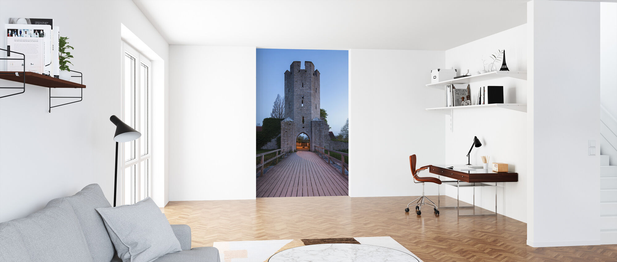 Old Building in Visby, Gotland - Wallpaper - Office