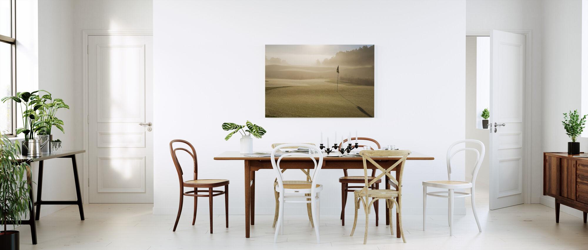 Golf Court in Mölndal, Sweden - Canvas print - Kitchen