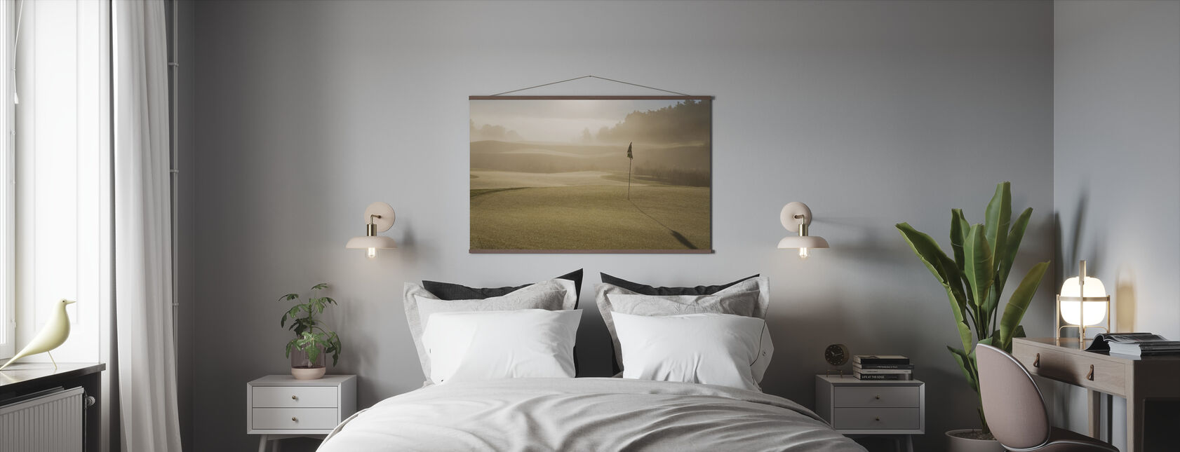 Golf Court in Mölndal, Sweden - Poster - Slaapkamer