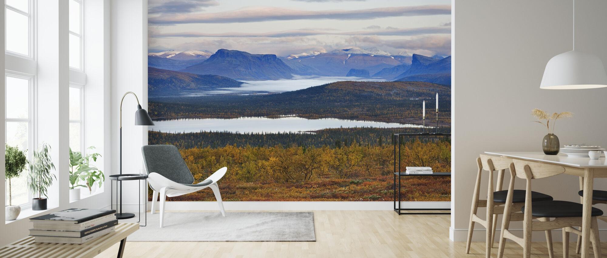 Lappland, Sverige - Tapet - Vardagsrum