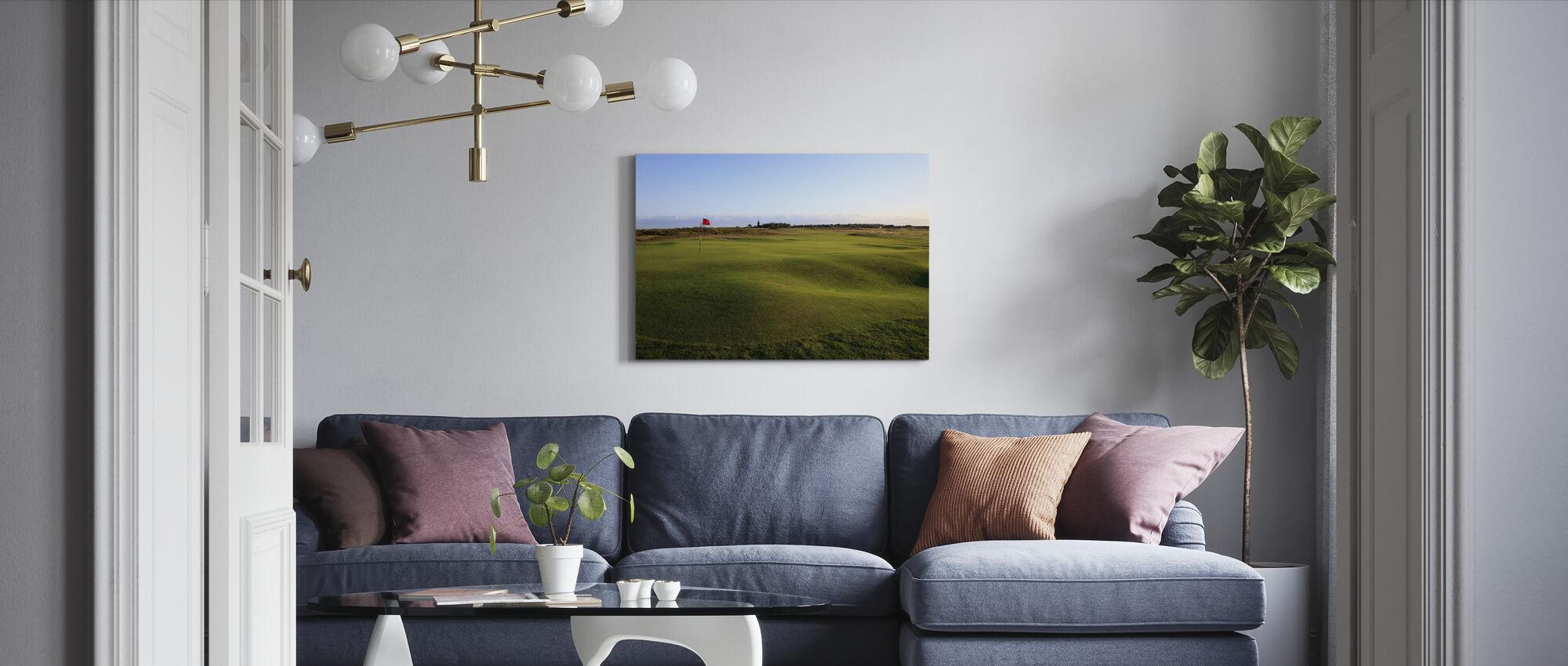 Golfbaan in Falsterbo, Zweden - Canvas print - Woonkamer