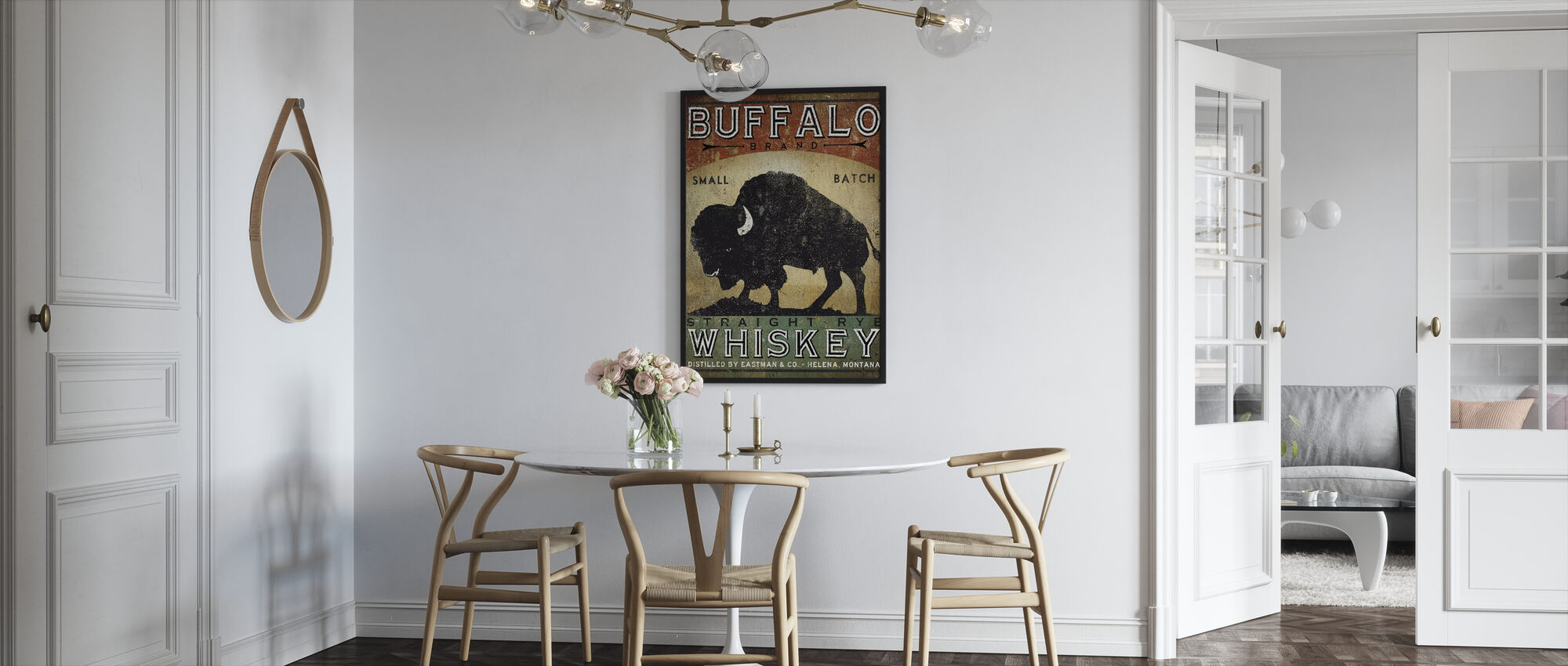 Buffalo Whiskey - Framed print - Kitchen